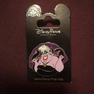 Ursula Disneyland Pin